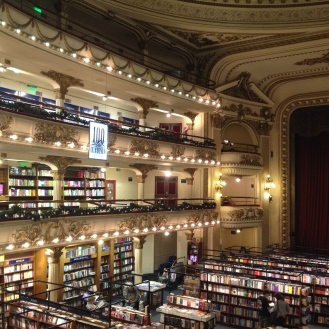 Theatre that was turned into a book store